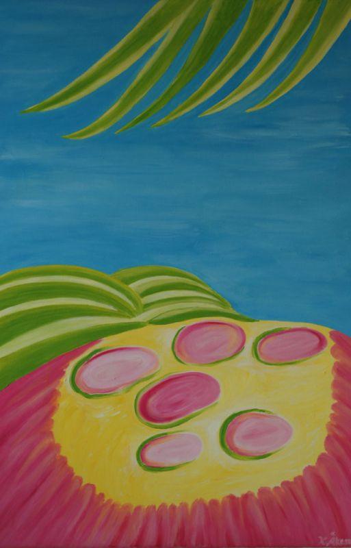 Blomning i Haleakela